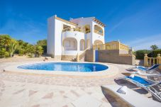 Villa Cactus - Villa in Calpe with sea views