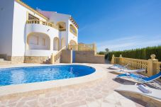 Villa Calpe - Villa Cactus - Sea views and private pool